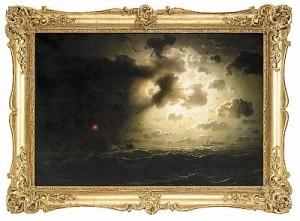 Nattstämning Vid Havet by Marcus LARSON