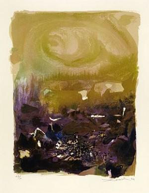 Sans Titre by ZAO WOU-KI