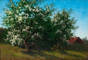 Fruit-tree In Bloom by Teodor BILLING