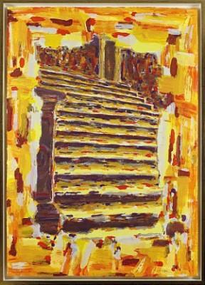 Runtom Trappa by Rolf HANSON