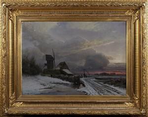 Landskap Med Kvarn by Gustaf RYDBERG