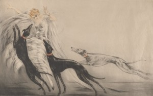 Coursing Ii by Louis ICART