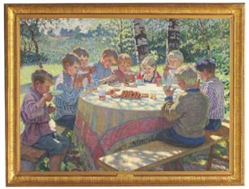 Tekalas by Nikolai Petrovich BOGDANOV-BELSKY