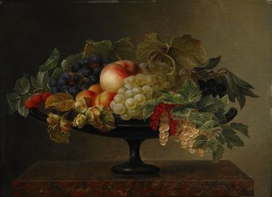 Fruktstilleben I En Tazza by Johan Laurentz JENSEN