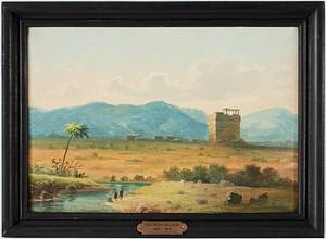 Nordafrikanska Vyer (2) by Carl Peter HALLBERG