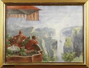 Piprökande by Robert HÖGFELDT