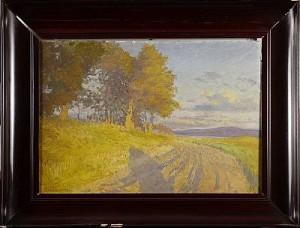 Landskap by Emil LINDGREN