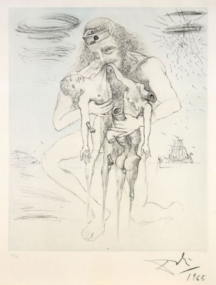 Mythologie: Kronos by Salvador DALI