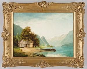 Fjordlandskap by Anders KALLENBERG