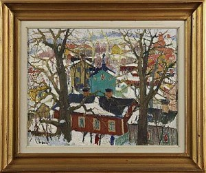 Vinterdag-årstadal by Kurt LINDON