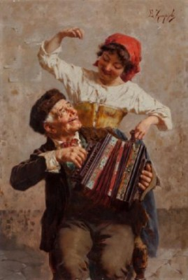 Dancing Serenade by Eugenio ZAMPIGHI