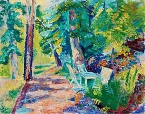 Trädgårdsgången by Isaac GRÜNEWALD