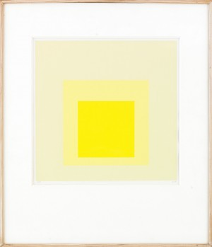 Hommage To The Square by Josef ALBERS