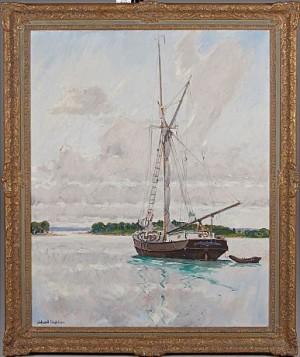 Skuta Vid ålandskust by Rikard LINDSTRÖM
