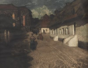 Marias Mand by Frits THAULOW