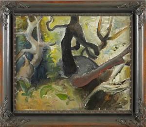 Trädstammar by Josef LINDSKOG
