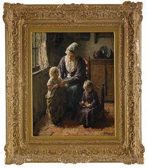 Familjeidyll by Bernard POTHAST