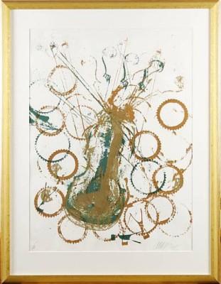 Komposition Med Fiol, by Fernandez ARMAN