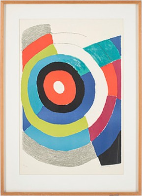 Composition Aux Cercles by Sonia DELAUNAY