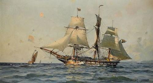 Svenskt örlogsfartyg - Marin by Herman Af SILLÉN