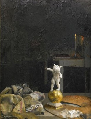 Stilleben Med Amorin by John-Erik FRANZÉN