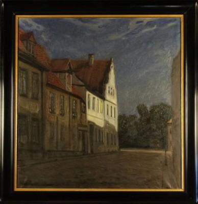 Stadsmotiv Från Kalmar by Ragnar SWAHN