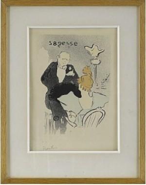 Sagesse by Henri De TOULOUSE-LAUTREC