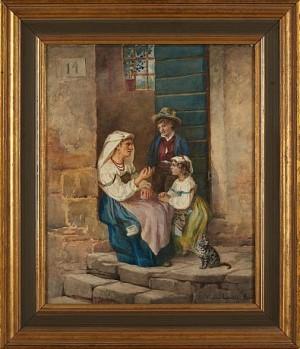 Mor Med Barn by Virginia LARSSON