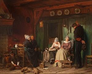 Huslig Andakt by Ferdinand FAGERLIN