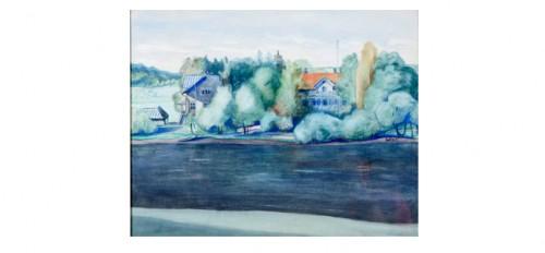 Sjukstugan Och Läkarvillan I Sunnansjö by Einar NORELIUS