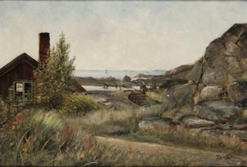 Hufudskär by Edvard WESTMAN