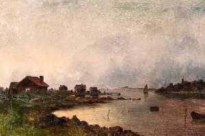 Skymning I Skärgården by Carl HALLSTRÖM