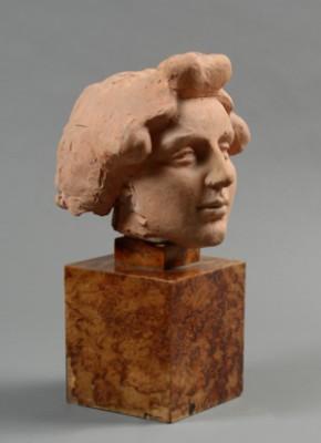 Sculpture En Terre Cuite by Aristide MAILLOL