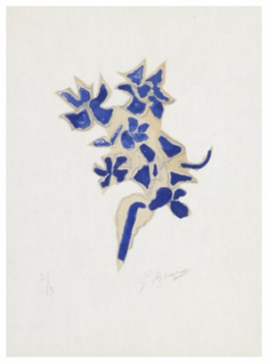 Giroflée Bleue by Georges BRAQUE