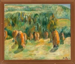Kornstakker by Rudolph THYGESEN