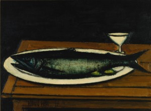 Poisson Et Citrons by Bernhard BUFFET
