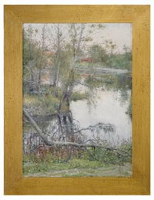 Vid ån - Knapegård by Nils KREUGER