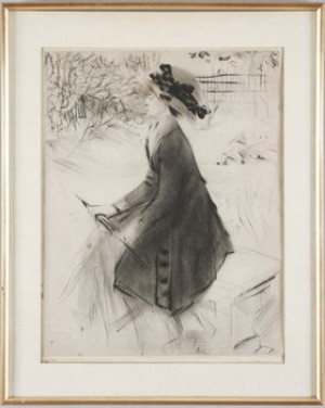 Le Banc De Pierre by Jacques VILLON
