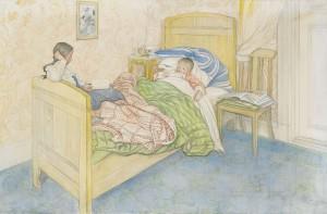 I Mammas Säng by Carl LARSSON