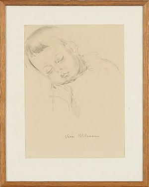 Sovande Barn by Vera NILSSON