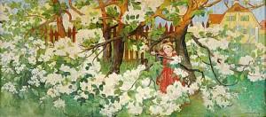äppelblom by Alf WALLANDER
