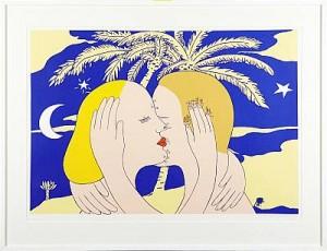 Kyssen by Marie-Louise EKMAN