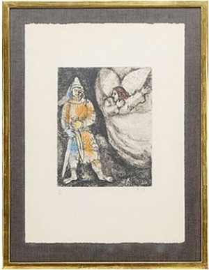 La Bible: 3 Plates by Marc CHAGALL