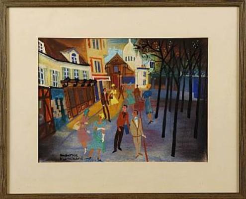 Motiv Från Paris by Maurice BLANCHARD