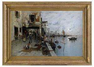 Motiv Från Venedig by Wilhelm Von GEGERFELT