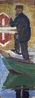 "Studie Till ""kyrkfolk"" by Carl WILHELMSON"