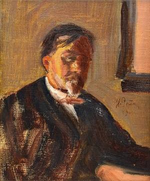 Portrait Of Boris Alexandrovich Lazarevsky by Ilya Efimovich REPIN