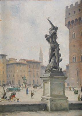 Piazza Della Signorina - Florens by Bernhard OSCARSSON
