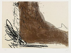 Le Pied by Antoni TAPIES