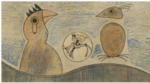 L'oiseau by Max ERNST